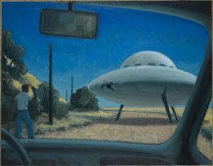 UFO Encounter by Michael Buhler