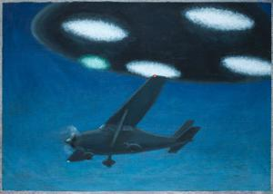 UFO Near Melbourne, Australia by Michael Buhler