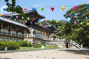 Bulguksa Temple, Gyeongju, UNESCO World Heritage Site, South Korea, Asia by Michael