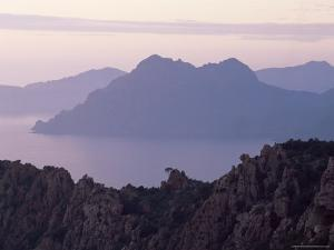 Bay of Porto, Corsica, France, Mediterranean by Michael Busselle