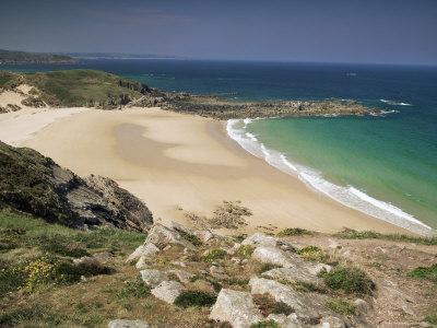 Beach Near Cap Frehel, Emerald Coast, Brittany, France