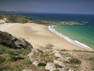 Beach Near Cap Frehel, Emerald Coast, Brittany, France by Michael Busselle