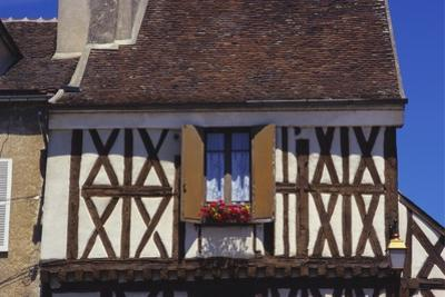 Building Exterior in the Village of Chablis, Burgundy, France by Michael Busselle