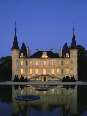Chateau Pichon Longueville, Bordeaux, France by Michael Busselle