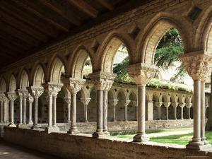 Cloister of Moissac, Moissac, Tarn Et Garonne, France by Michael Busselle