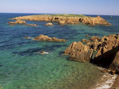 Esterel Corniche, Near St. Raphael, Var, Cote d'Azur, Provence, France, Mediterranean by Michael Busselle