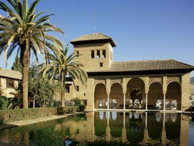 Gardens of the Partal, Alhambra, Unesco World Heritage Site, Granada, Andalucia, Spain by Michael Busselle