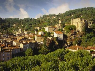 Largentiere, Ardeche, France