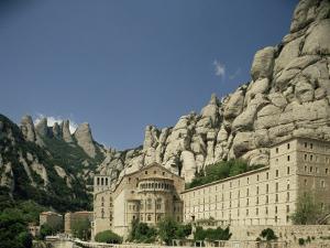 Monastery of Montserrat, Near Barcelona, Catalonia, Spain by Michael Busselle