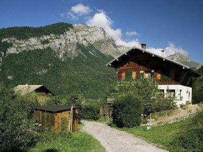 Sixt Fer a Cheval, Haute Savoie, Rhone Alpes, France