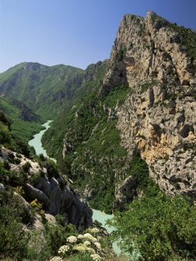 Verdon Gorges, Alpes-De-Haute-Provence, Provence, France by Michael Busselle