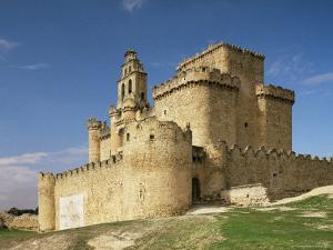 View of Castle, Turegano, Segovia Province, Castile Leon, Spain by Michael Busselle