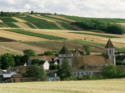 Village of Chitry, Burgundy, France by Michael Busselle
