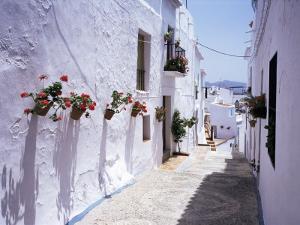 Village of Frigiliana, Malaga Area, Andalucia, Spain by Michael Busselle