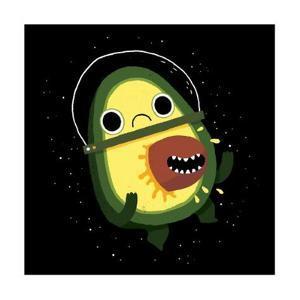 Alien Avocado by Michael Buxton