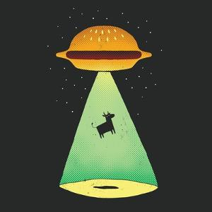 Burger Abduction by Michael Buxton