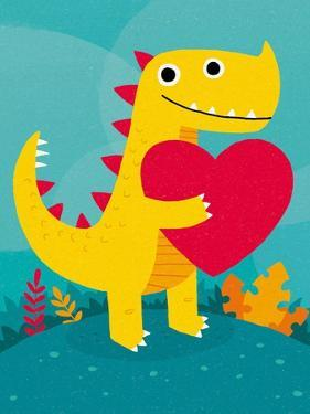 Dino Love by Michael Buxton