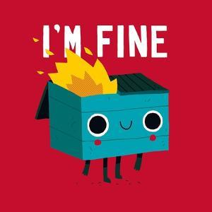 Dumpster Is Fine by Michael Buxton