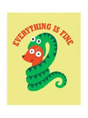 Everything Is Fine by Michael Buxton