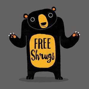 Free Shrugs by Michael Buxton