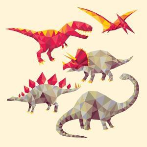Geo Saurs by Michael Buxton