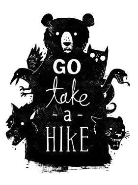 Go Take a Hike by Michael Buxton
