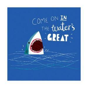 Great Advice Shark by Michael Buxton