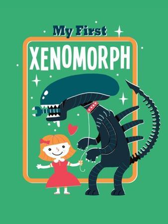 My First Xenomorph by Michael Buxton