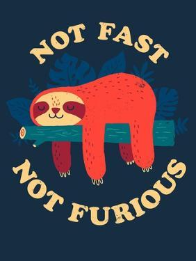 Not Fast, Not Furious by Michael Buxton