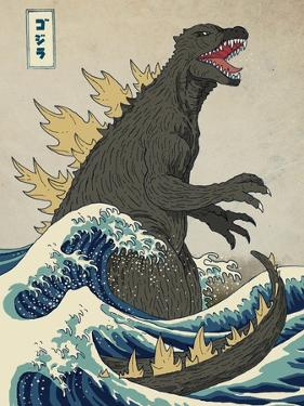 The Great Monster off Kanagawa by Michael Buxton