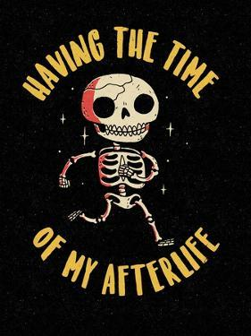 The Time of My Afterlife by Michael Buxton