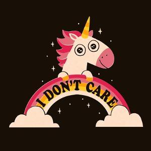 Unicorn Don't Care by Michael Buxton