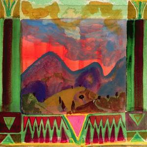 Abruzzi before Dusk by Michael Chase