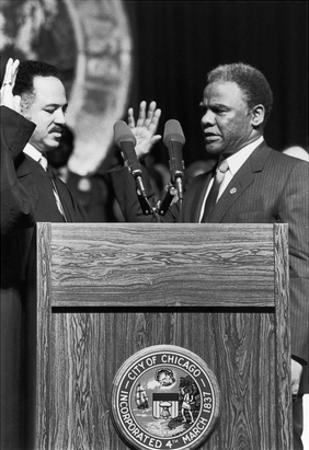 Harold Washington,Charles Freeman