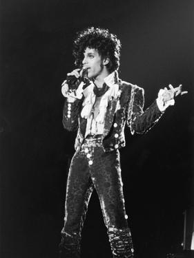 Prince, Purple Rain Tour, 1984 by Michael Cheers