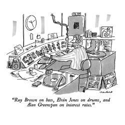Affordable Celebrities New Yorker Cartoons Art Print for