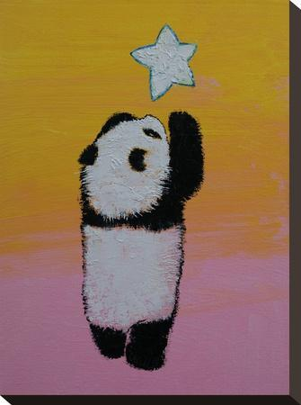 Baby Panda Star by Michael Creese