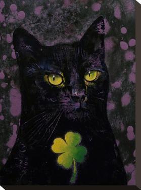 Black Cat Shamrock by Michael Creese