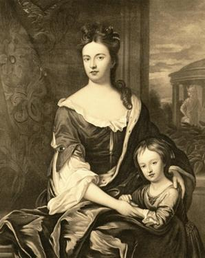 Portrait of Queen Anne and Her Son William, Duke of Gloucester by Michael Dahl