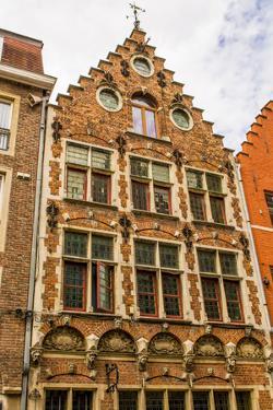 Architecture in Bruges, West Flanders, Belgium. by Michael DeFreitas