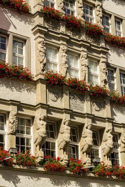 Buildings architecture, Munich, Bavaria, Germany. by Michael DeFreitas