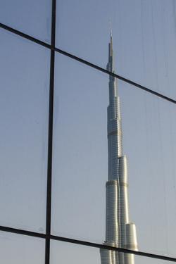 Burj Khalifa the Tallest Building in the World Downtown Dubai, Uae by Michael DeFreitas