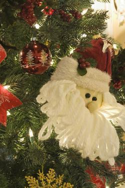 California, Palm Springs. Christmas decorations. by Michael DeFreitas