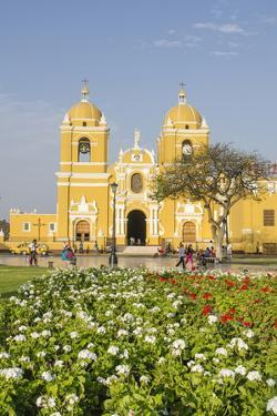 Cathedral of Trujillo from Plaza De Armas, Trujillo, Peru, South America by Michael DeFreitas