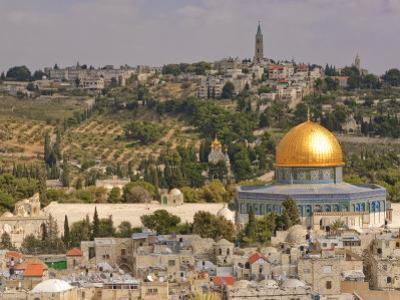 Dome of the Rock, Jerusalem, Israel, Middle East by Michael DeFreitas