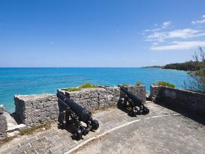 Gate's Fort Park and Fort, Bermuda, Central America by Michael DeFreitas
