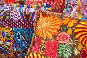Guatemala, Chichicastenango. Local outdoor market. by Michael DeFreitas