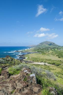 Hanauma Bay Nature Reserve, South Shore, Oahu, Hawaii, United States of America, Pacific by Michael DeFreitas