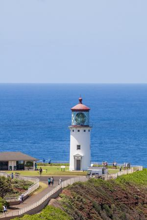Historic Kilauea Lighthouse on Kilauea Point National Wildlife Refuge by Michael DeFreitas