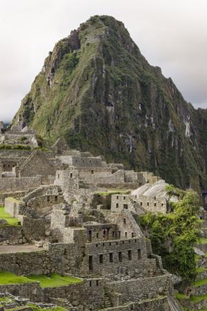Machu Picchu, UNESCO World Heritage Site, Near Aguas Calientes, Peru, South America by Michael DeFreitas
